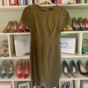 J. Crew Olive Green Dress